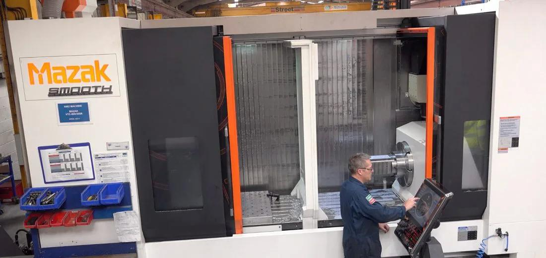 Travelling Column Large 5 Axis Prismatic Milling