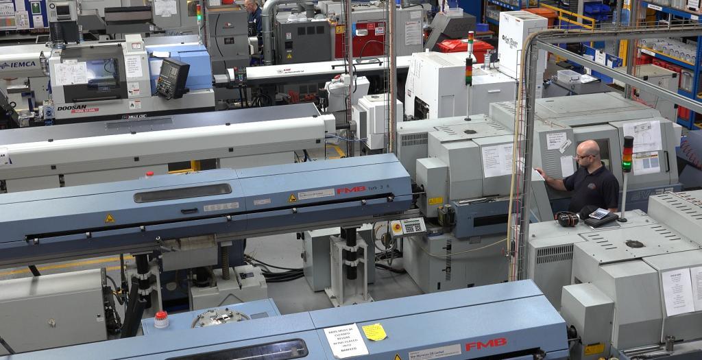 CNC Turning Sliding of turned parts